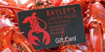 Bayley's Lobster Pound's Gift Card